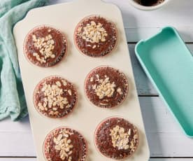 Gluten-Free Chocolate Fruit Oatmeal Muffins