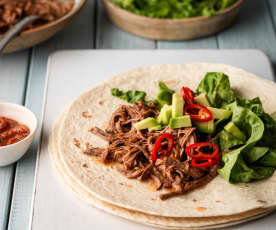 Spicy Pulled Beef