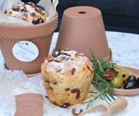 Mediterrane Köstlichkeit – selbstgebackenes Brot im Tontopf