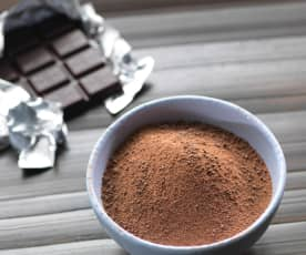 Finely Chopped Chocolate Powder