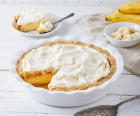 Banana Cream Pie with Wafer Crust