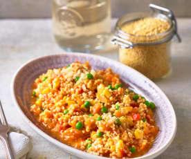 Gemüse-Hirsotto