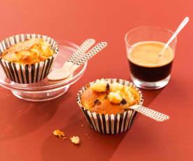 Muffins pomme-raisin