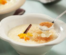 Mléčná rýže s vůní citrusů