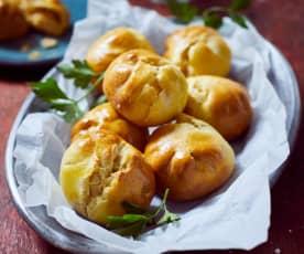 Knishes mit Kartoffelfüllung
