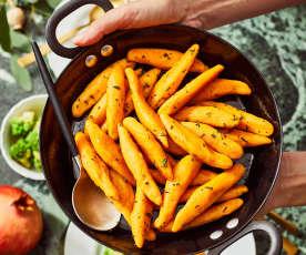 Süßkartoffel-Schupfnudeln mit Salbei