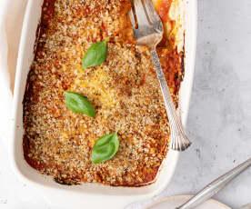 Parmigiana di finocchi (vegan)