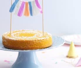 O 1º bolo de aniversário