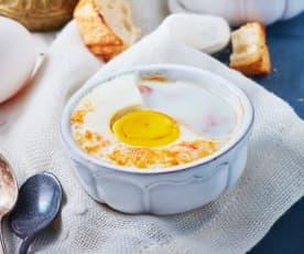 Oefs en cocotte (huevos en cazuela)