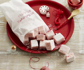 Erdbeer-Marshmallows