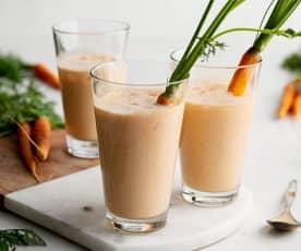 Sumo de cenoura jamaicano
