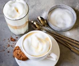 Milchschaum für Cappuccino und Latte Macchiato
