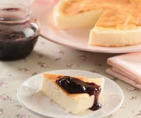 Gâteau au fromage, façon japonaise