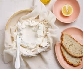 Queijo quark com dica para queijo-creme