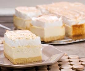 Cheesecake de natillas y merengue
