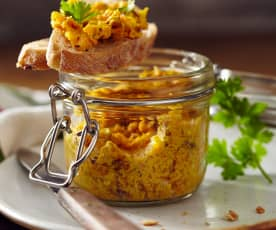 Curry-Nuss-Aufstrich