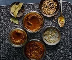 Indische Currypaste