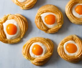 Easter Cream Pastries