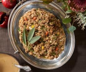 Cauliflower Stuffing for Hedonists (Bill Yosses)