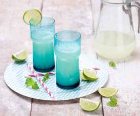 Lemoniada limonkowo-imbirowa