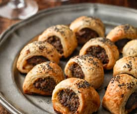 Spiced Beef Rolls
