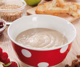 Grundrezept Getreide-Obst-Brei