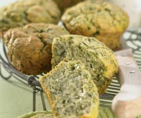 Grünkohlmuffins
