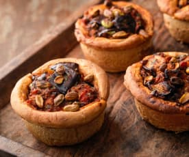 Middle Eastern Aubergine Pies