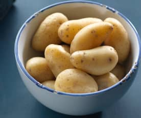 Steamed Baby Potatoes
