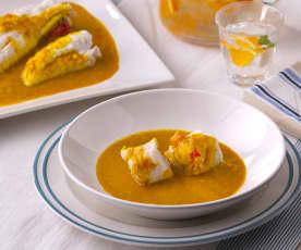 Curry indio de rape