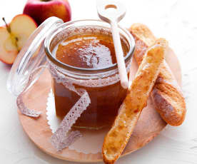 Confiture aux épluchures de pomme