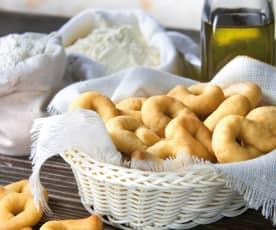 Taralli all'olio extravergine di oliva
