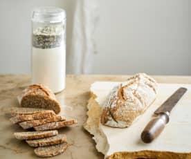Mix para pão integral e pão