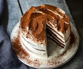 Layer cake façon tiramisu