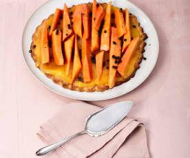 Papaya-Tarte