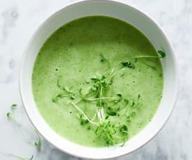 Aromatische Kressesuppe