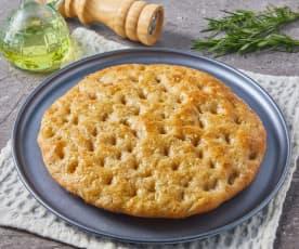 Whole Wheat Focaccia Pizza Dough