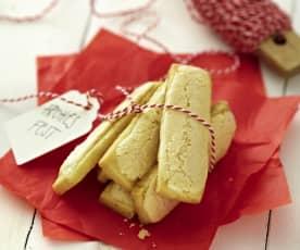 Biscuits citronnés