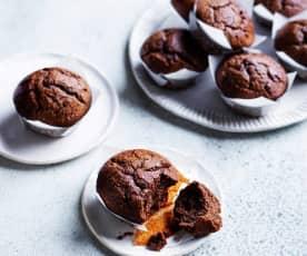 Chocolate mud muffins (gut health)