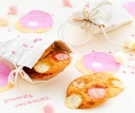 Minicookies aux guimauves