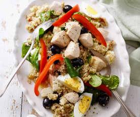 Quinoa-Feta-Salat