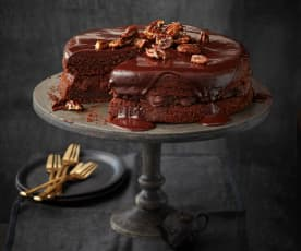 Schoko-Pecannuss-Torte