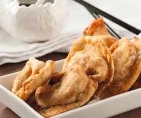 Wan Tans (frittierte Teigtaschen)