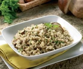 Allergen Friendly Mushroom Risotto
