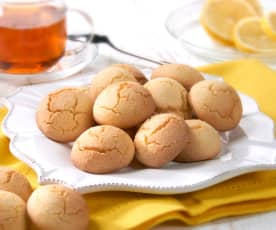 Biscottini de arroz al limón (sin gluten)