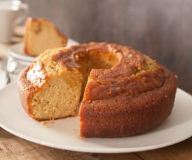 Bizcocho con glaseado de mantequilla (Kentucky butter cake)
