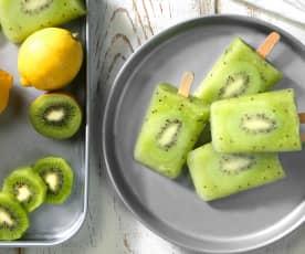 Kiwi-Eispops