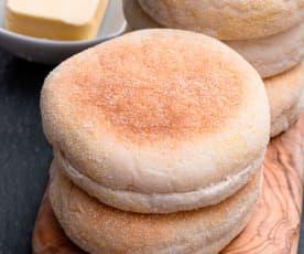 Sourdough Starter Discard English Muffins