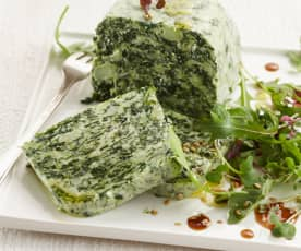 Spinach and Broccoli Terrine