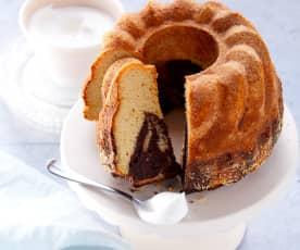 Joghurt-Marmorkuchen (zuckerfrei)